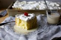 Three milk's cake (Pastel de tres leches)