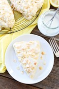 Toasted coconut lemon scones