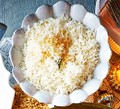 Toasted coconut rice