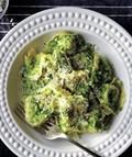 Tortellini with broccoli pesto