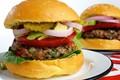 Tri-pepper burgers