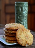 Tropical tiki cookies