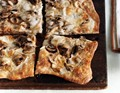 Truffled Taleggio and mushroom pizza
