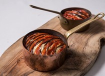 Turkish baked tomato and aubergine (Imam bayildi)