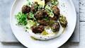 Turkish zucchini fritters with garlic yoghurt
