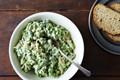 Two-pea pesto chicken salad