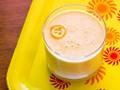 Vegan kumquat creamsicle smoothie