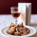 Walnut and apricot cantuccini
