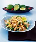 Warm chicken Thai salad