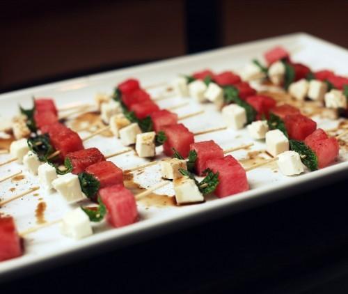 and feta salad watermelon and feta skewers tomato watermelon and feta ...