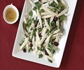 White asparagus, parsley, and cranberry salad