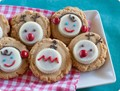 White chocolate peanut butter cup Christmas cookies