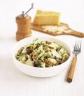 Wild mushroom and walnut pasta