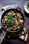 Wild mushroom pasta
