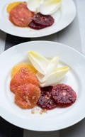 Winter citrus salad with Belgian endive