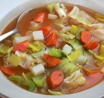 Winter vegetable garbure