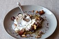Yogurt with toasted quinoa, dates & almonds [Amanda Hesser}